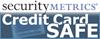 Security Metrics Credit Card Safe