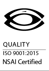 ISO 9001:2015 NSAI Certified